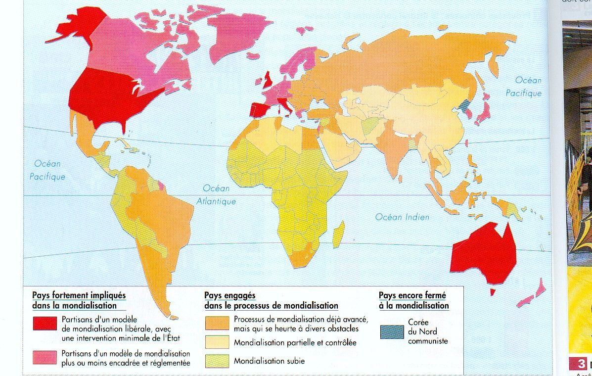 A) Les pays industrialisés